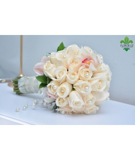 BOUQUET EN ROSAS BENDELA